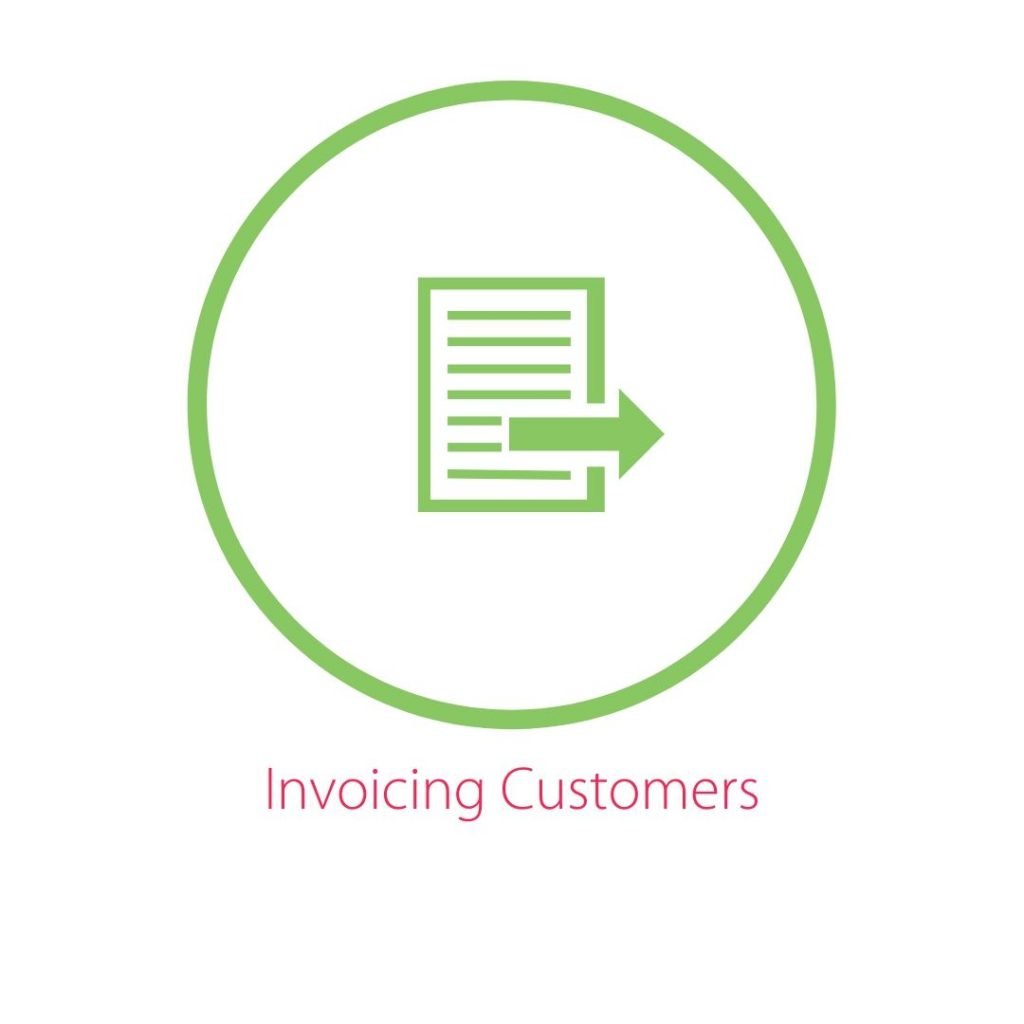 Invoicing Customers icon