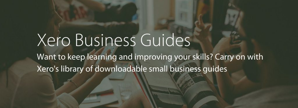 Xero Small Business Guides
