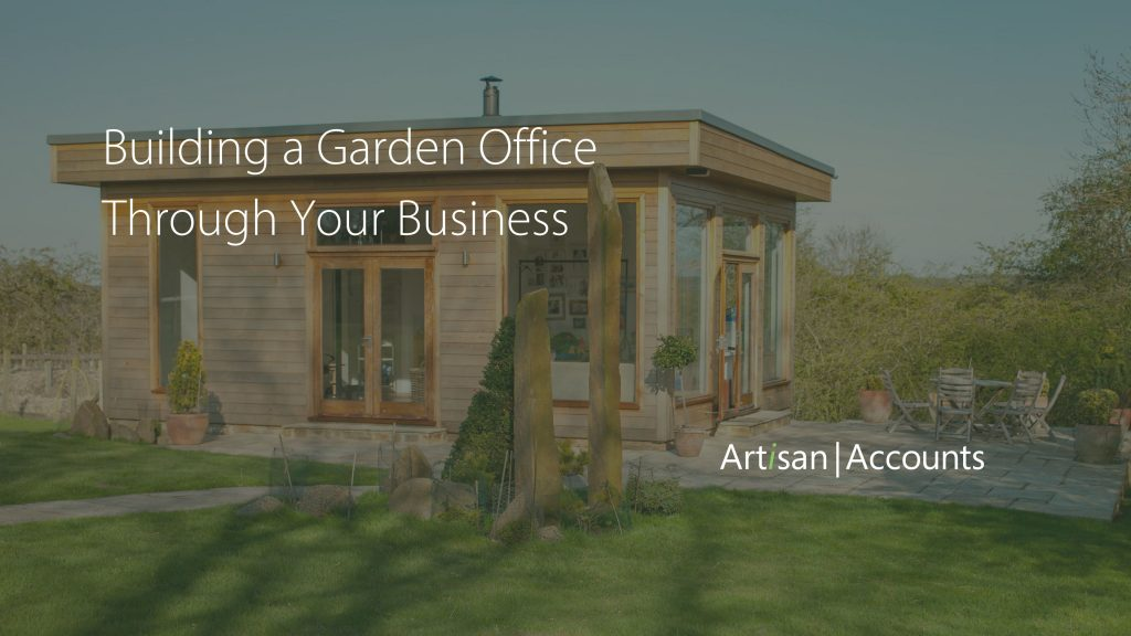 Garden Office in green space